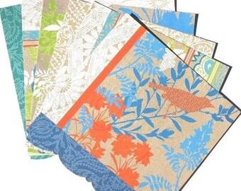 SALE - Summer Garden Blue - 6x6 DCWV Paper Pack