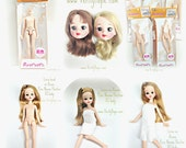 AZONE 1/6 Pure Neemo Flection XS Full Action Flesh Skin Doll Body fits Blythe, Dal, Licca
