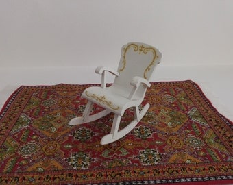 Lundby Rococo Style Rocking Chair 1:16 Scale