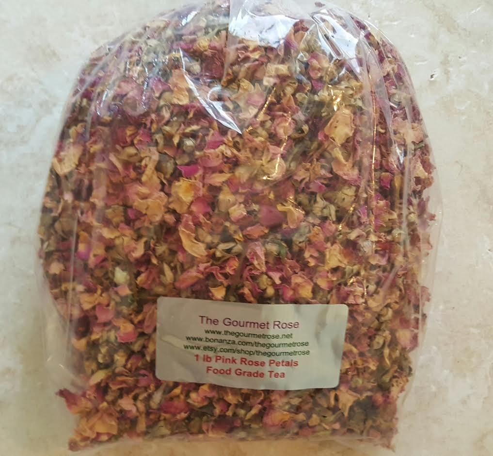 Bulk herbs wholesale - 1 Lb Pink Rose Petal Tea Buds Dried Flowers Potpourri Bath Sachets Herbs Bulk Wholesale 16 Oz 1st Quality No 1