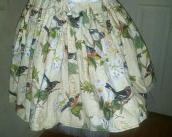 Songbird skirt: CLEARANCE