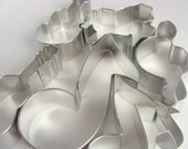 7 Piece Music Themed Boxed Cookie Cutter Set