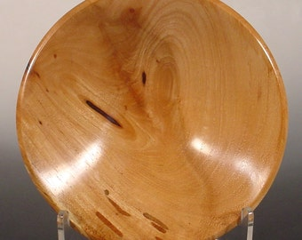 Texas Pecan Ring Dish Turned Wooden Bowl Number 6250