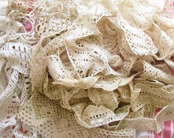 Artsy Supply...Lot of Vintage Crochet Trim