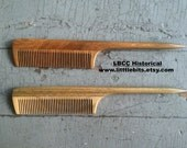 A Fine Sandalwood Parting Comb