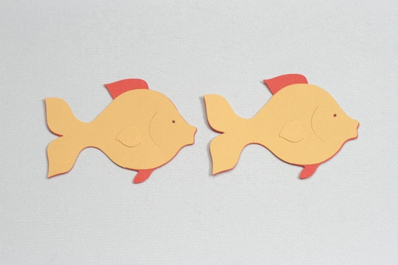 Fish Die Cuts Paper Fish Die Cut Fish Paper Die Cuts Fish