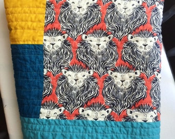 Roar Baby Quilt and Playmat