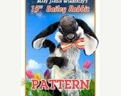 ONSALE Bunny Sewing Pattern, Stuffed Animal Pattern, PDF Rabbit Pattern, Plush Animal Pattern, Rabbit Stuffy, Easter Rabbit PDF, Teddy Bear