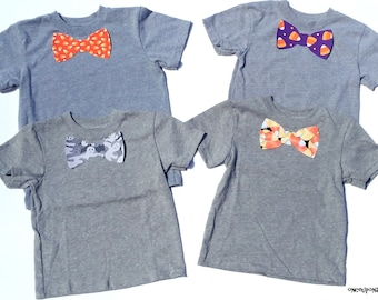 Halloween Bow Tie//Fabric Iron On Applique//Choose From 4 Designs