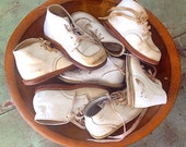 First Steps... Instant Collection of Antique Leather Baby Shoes