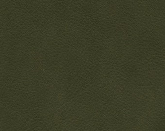 new color - MATTE GREEN - French Nubuk - choose this leather for selected bags or purchase a swatch