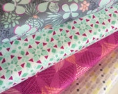 Canyon Fabric Bundle,  Quilting fabric, Bright fabric, Designer Fabric by Kate Spain,  Moda Fabric- Fabric bundle of 4, Choose the Cut