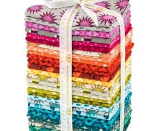 SALE Paintbox Basics ENTIRE LINE Precut fabric, Cotton fabric, Elizabeth Hartman - Fat Quarter Bundle of 30, 7.5 yards in total