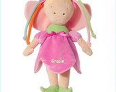 Personalized Cloth Fairy Doll, Sibling Gift, Rag Doll, Shower Gift, Toddler Doll, Tan Skin, Doll, Cloth Doll, Toy Doll, Safe Doll, Boy Doll,