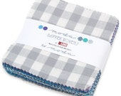 """Dapper Wovens Moda Charm Pack, 42 -  5"""" precut fabric quilt squares by Luke of Walk a Mile in Your Own Shoes"""