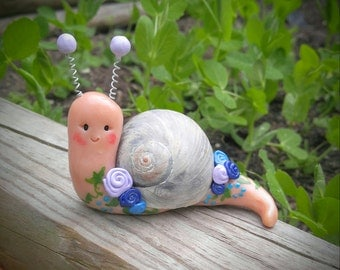 Cutest decorative snail