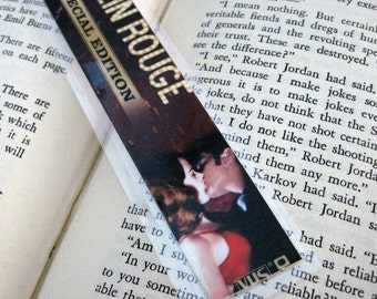 Moulin Rouge Recycled Bookmark
