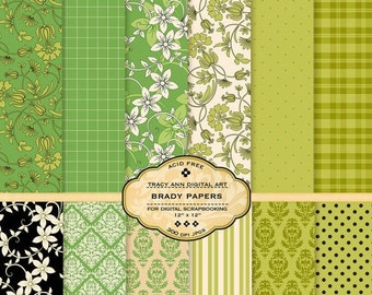 Brady Digital Paper Pack