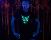 The Green Fairy glow in the dark Ladies Tees Size S M L, XL & 2XL
