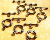 Antique Brass Toggles, Bracelet Toggles, Bracelet Toggle Clasp, Brass Toggle Clasp,Bracelet Connector, 12mm