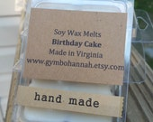 Birthday Cake Scented Soy Wax Melts Tarts Home Fragrance Cake Batter