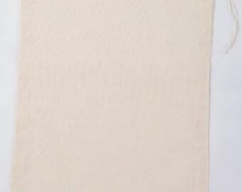 25 8x10 inch Cotton Muslin Drawstring Bags