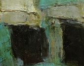 Oil Painting Abstract Original Panel Expressionism Colette Davis