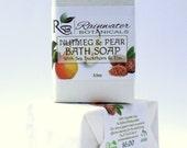 Nutmeg & Pear Vegan Soap