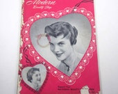 Vintage 1950s Modern Beauty Shop Hair Styling Magazine