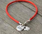 Red String Prosperity & Hamsa Charms Kabbalah Bracelet