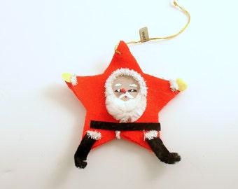 Vintage Christmas Ornament Santa Ornament Santa Claus Christmas Decoration