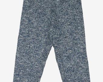 SAMPLE SALE - Knit Leggings in Navy - Size 3