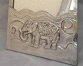 Elephant mirror.
