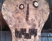Private listing Primitive Halloween Skull Bag Private Listing Only