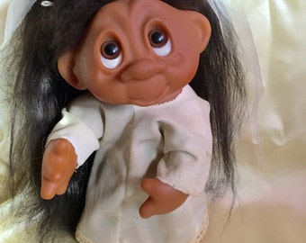 THOMAS DAM 604 circa 1985 Made in Denmark troll doll