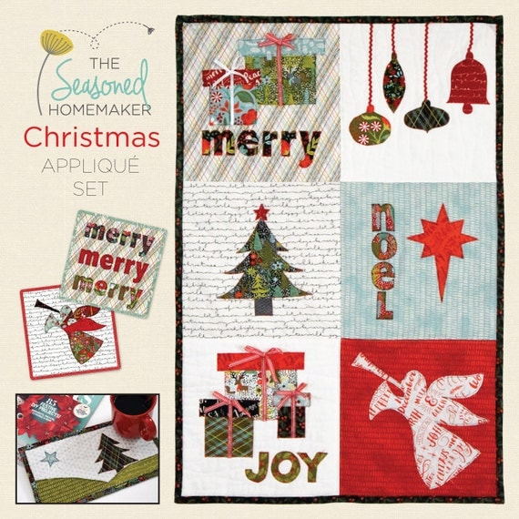 Christmas Appliqué Set
