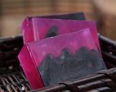 Handmade Glycerin Soap - Black Currant Tea Soap