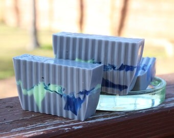 Handmade Shea Butter and Glycerin Soap - Blackberry Sage Soap // Gifts for Her // Gifts for Him