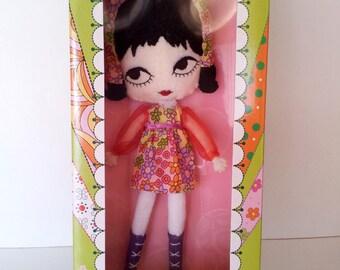 GINAGIRL Violet Blythe pose doll LE500