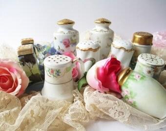 Vintage Salt & Pepper Collection of Ten - Shabby Sweet