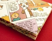 Set of 10 Handmade Calvin and Hobbes Envelopes - Medium - Color