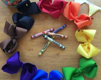Crayon Box Boutique Bow Set