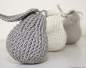 CROCHET PATTERN - Pear Accent - Instant Download (PDF)