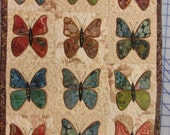 Little Butterflies wallhanging kit or wallhanging
