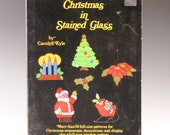 Stained Glass Pattern Book - Christmas in Stained Glass  - by Carolyn Kyle