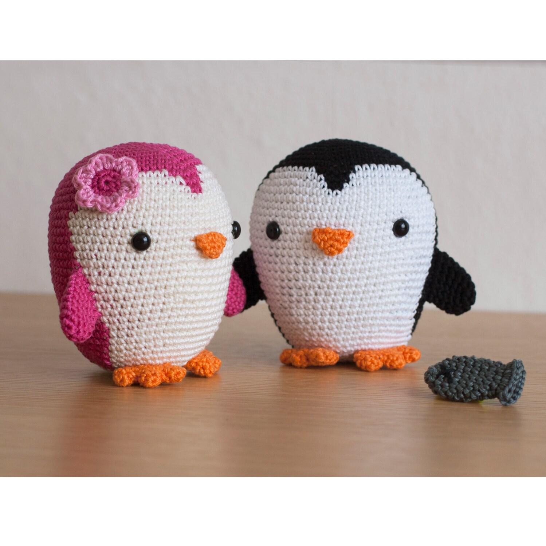 Amigurumi Crochet Penguin Pattern : Crochet Pattern penguin amigurumi PDF