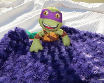 Security Blanket Lovie Baby Blanket, Turtle Ninja,  medium lovems
