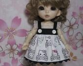 Skull Kitty Dress for Lati Yellow, Pukifee