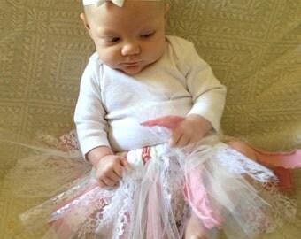 Shabby Chic Baby Tutu (Pink)