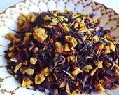 Brambleberry Tea Blend, Hand Blended Tea, Flavored Black Tea, Autumn Tea, Loose Leaf Tea, Black Tea